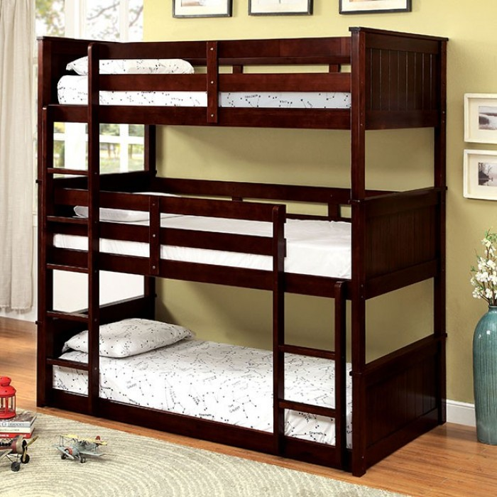 Furniture of America | Therese | Triple Twin Decker Bed