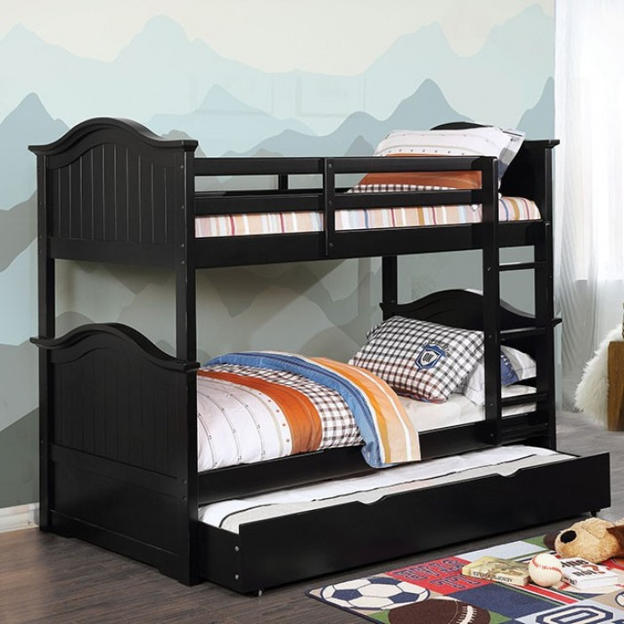 Furniture Of America Twin Twin Bunk Bed Hermine