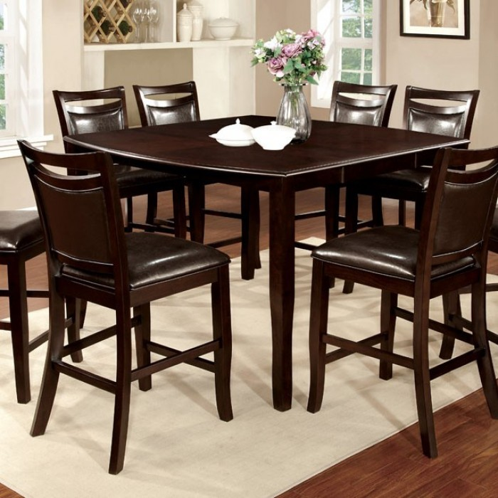 Fantastic Furniture Of America Woodside Ii Counter Ht Table Gmtry Best Dining Table And Chair Ideas Images Gmtryco