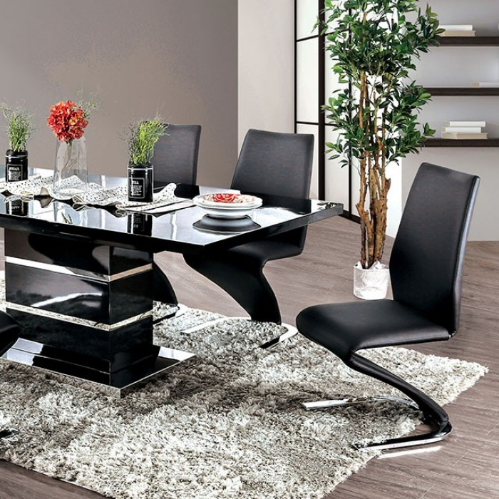 furniture of america dining table midvale. Black Bedroom Furniture Sets. Home Design Ideas