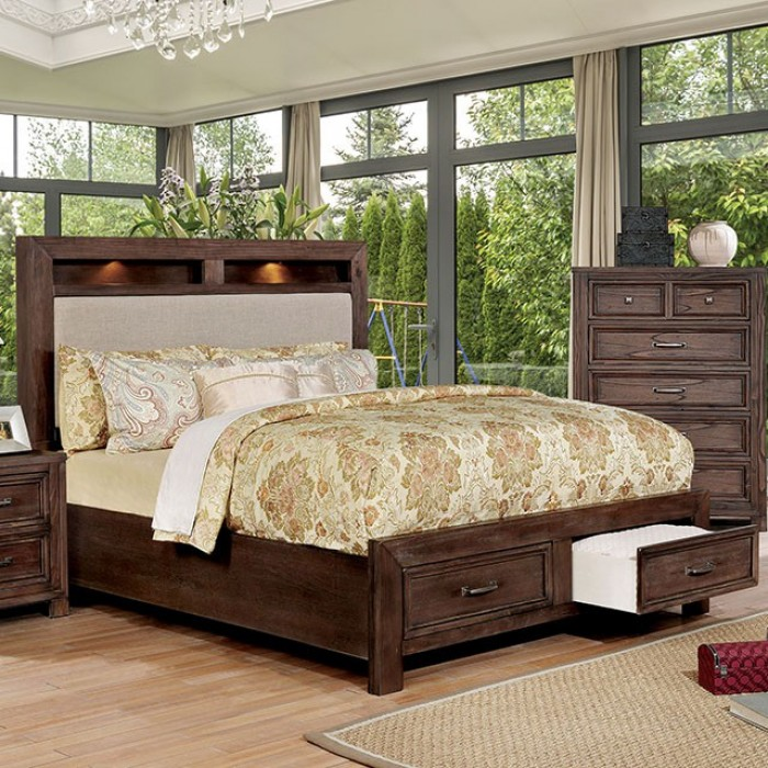 furniture of america bed tywyn. Black Bedroom Furniture Sets. Home Design Ideas