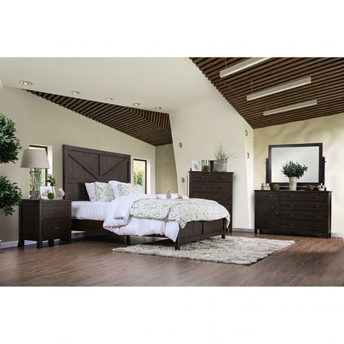 furniture of america bed brenna. Black Bedroom Furniture Sets. Home Design Ideas