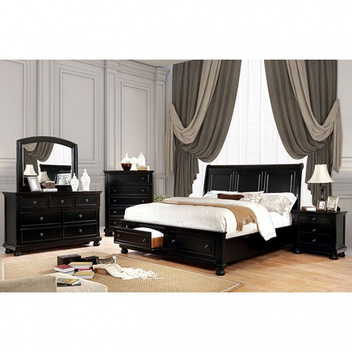 furniture of america castor bed. Black Bedroom Furniture Sets. Home Design Ideas