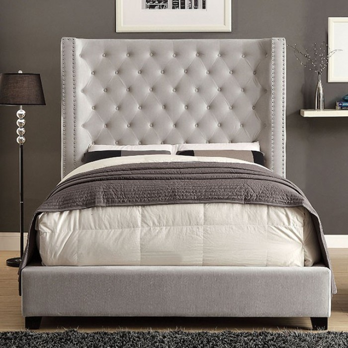 furniture of america mirabelle bed. Black Bedroom Furniture Sets. Home Design Ideas