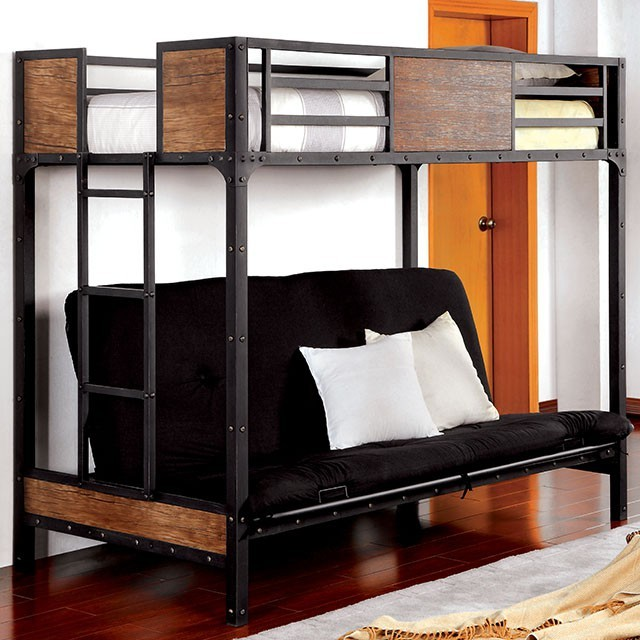 Furniture Of America Clapton Bunk Bed
